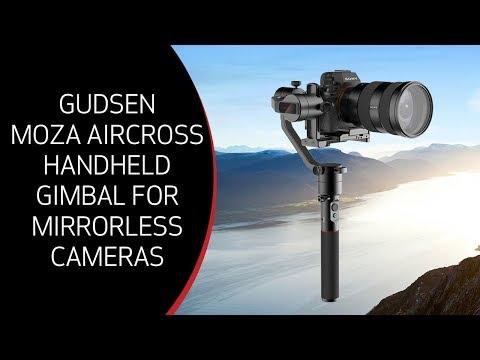 Unboxing / Setup: Gudsen MOZA AirCross 3-Axis Motorized Handheld Gimbal For Mirrorless Camera