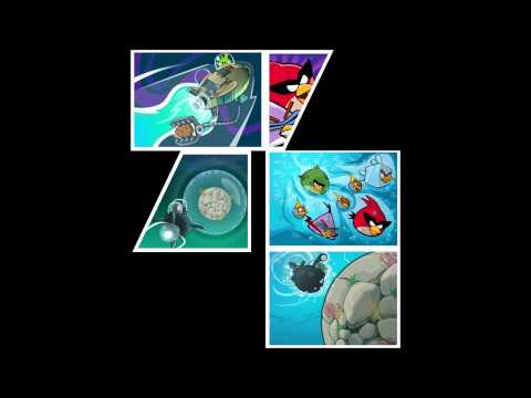 Angry Birds Space Slash