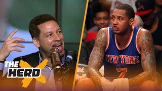 Chris Broussard on Carmelo in OKC,  Kyrie