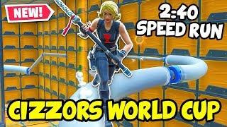 2:40 CIZZORZ World Cup DEATHRUN! (Fortnite Creative)