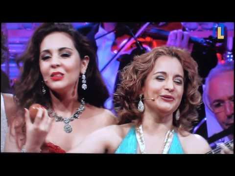 Manhã de Carnaval São Paulo 2012 Andre Rieu Carmen Carla and Kimmy