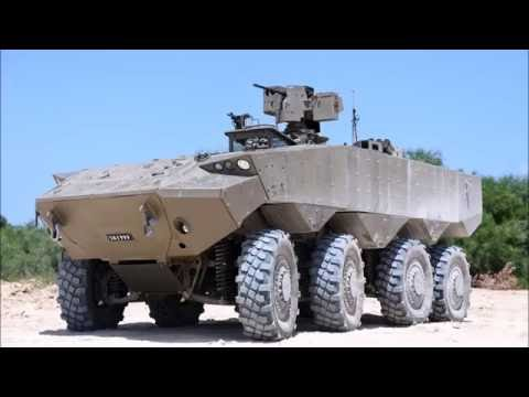 The Eitan - Israel Develops its First Wheeled Highly Protected APC