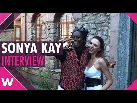 Sonya Kay (Ukrainian National Selection 2019)   Interview
