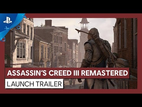 Assassin's Creed III Remastered | Launch Trailer | PS4
