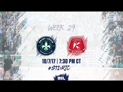 USL LIVE - Saint Louis FC vs Richmond Kickers 10/7/17