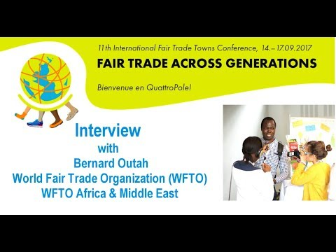 Interview with Bernard Outah, World Fair Trade Organization (WFTO) Africa & Middle East