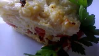 Запеканка из Капусты/Рецепт овощной запеканки