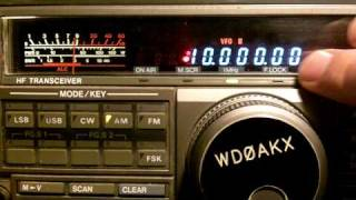 WWV And WWVH Time Signals