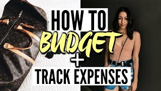 HOW TO BUDGET AND SAVE MONEY! (HACKS & TIPS) EXPENSE+ BUDGETING TRACKER