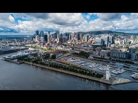 Vlog #4 au Canada : Merveilleuse ville de Montreal / Drone DJI Mavic Pro - 4K