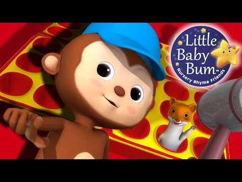 Pop Goes The Weasel | Nursery Rhymes | By LittleBabyBum!