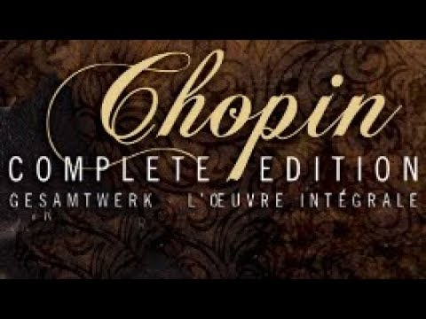 Chopin Complete Edition Vol.1
