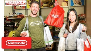 Nintendo HQ Store Shopping Spree Showdown - Nintendo Minute