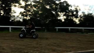 Funny Quad biking stunts