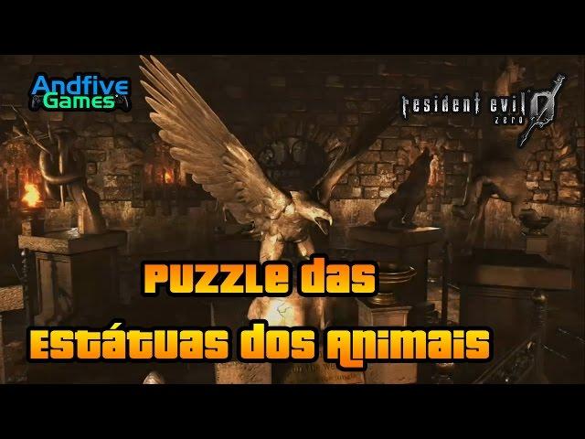 Resident Evil 0 Hd Remaster: Puzzle das Est�tuas dos Animais