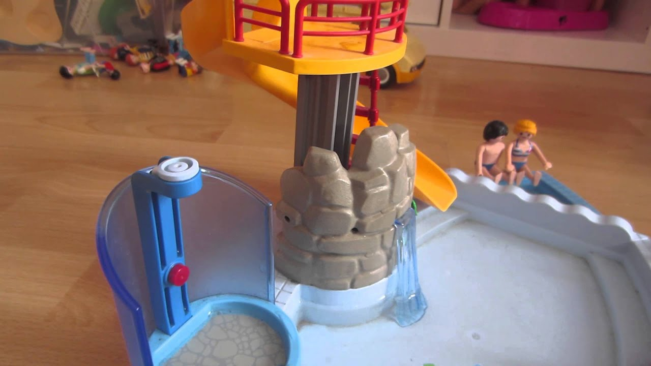 Playmobil colonie de vacances la piscine 1 youtube for Playmobil la piscine