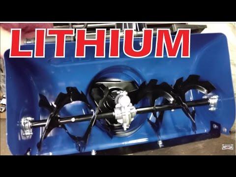 Lithium 2 Stage Snow Blower!?