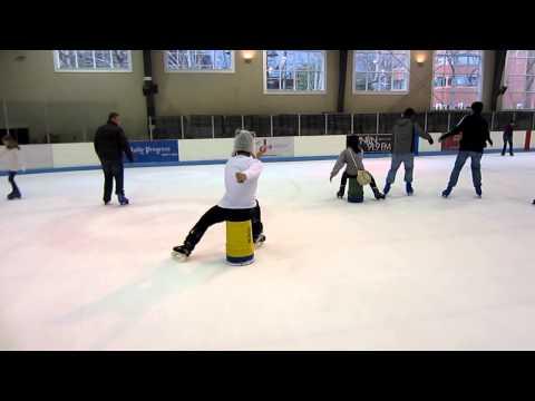 Bucket skating 1 (VSA Holiday extravaganza)