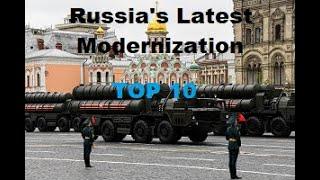 Top 10 Latest Russian Military Modernization Tech (2020)