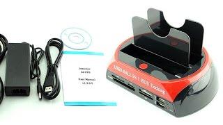 Док-Станция IDE SATA HDD USB 3.0 Универсальное устройство для всех носителей информации!