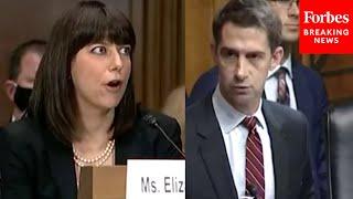 'How Did Your Office Get It So Wrong?': Tom Cotton Grills Solicitor General Nom Elizabeth Prelogar