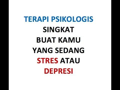 Terapi psikologis singkat buat kamu yang sedang stres atau depresi