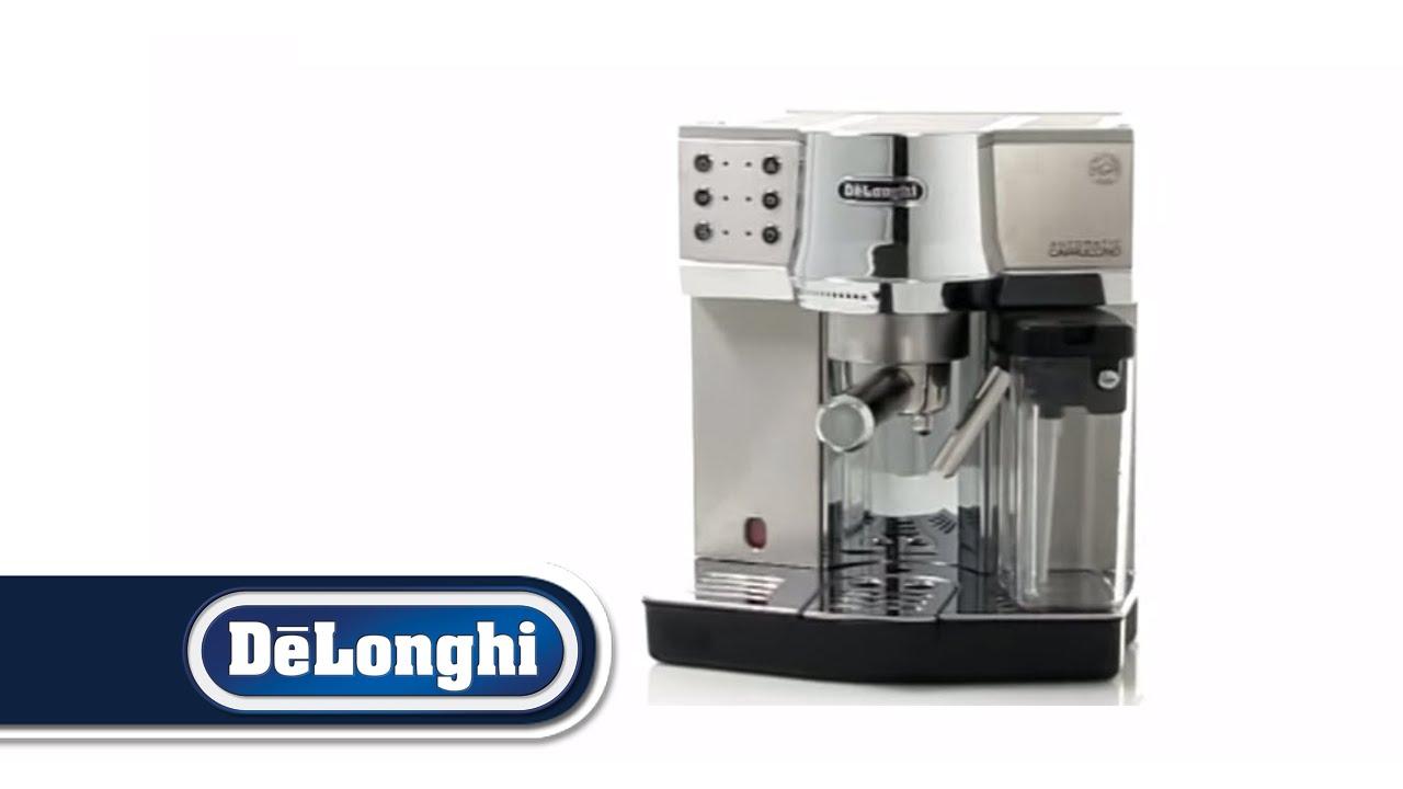 مميزات ومواصفات وطريقة استخدام ماكينة ديلونجي delonghi ec850 واسعارها