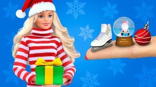 25 Clever Barbie Hacks And Crafts / Barbie Christmas Ideas