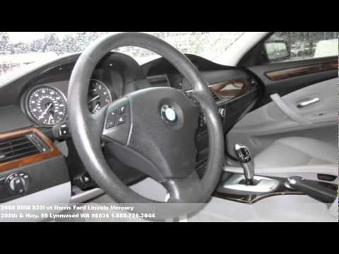 2008 BMW 535I for sale, $25985 at Harris Ford Lincoln Mercur
