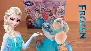 FROZEN disney Ice Cream Maker | Elsa ice cream machine for kids, girls Review (macchina del gelato)
