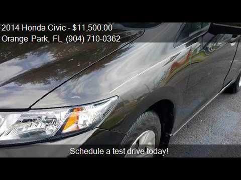 2014 Honda Civic LX 4dr Sedan CVT For Sale In Orange Park, F