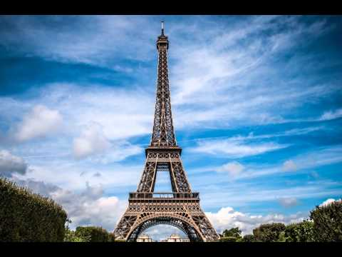 Eiffel tower with beautiful background