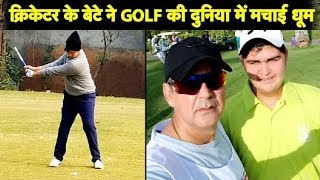 Former India Cricketer's Son Making Waves on the Golf field