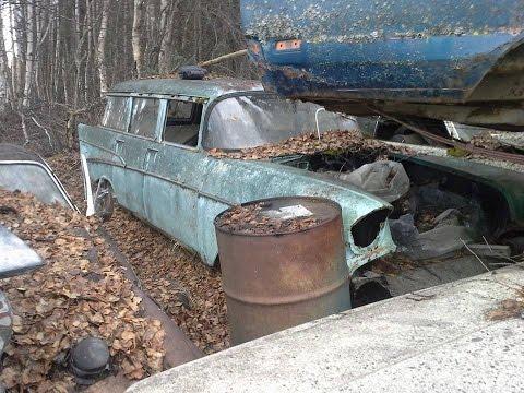 Junk Yard Rescue: 1957 210 Wagon in Alaska!