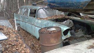 Junk Yard Rescue: 1957 210 Wagon in Alaska!