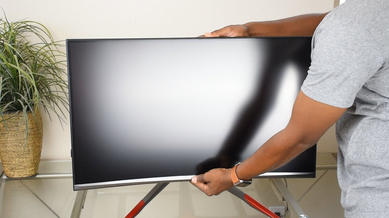 ca4a0de86bf6 New 144hz Viotek GN32LD 32 Inch Curved Gaming Monitor Freesync 1440p  Unboxing, Review & Setup