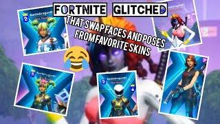 Fortnite Glitch - Head and Poses Swap