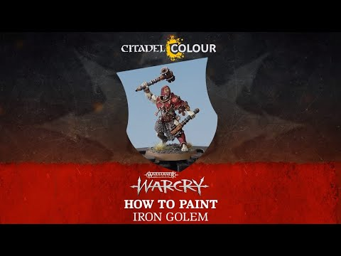 How to Paint – Iron Golem