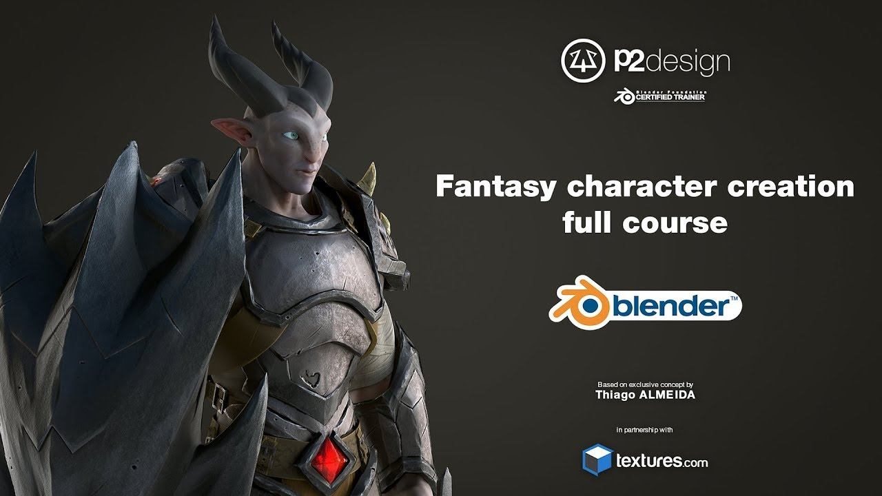 Dragon Knight - Fantasy character full course