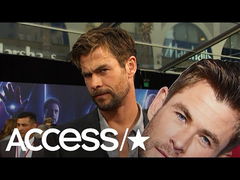 'Avengers: Infinity War': Chris Hemsworth Talks Surfing Injury & That Epic Jump Rope Video | Access