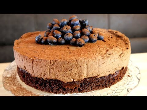 MARY BERRY - CHOCOLATE MOUSSE CAKE RECIPE - YouTube