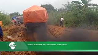 STATE OF THE ROADS IN SOUTHERN CAMEROON.