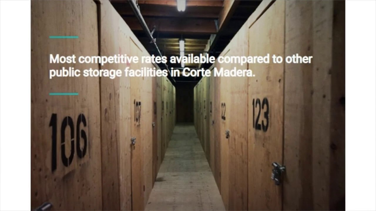 Space Mini Storage : Cheap Storage in Corte Madera, CA