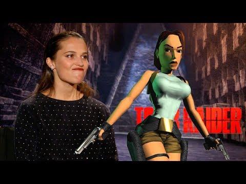 Best Tomb Raider Interview! (Alicia Vikander, Daniel Wu, Walton Goggins)