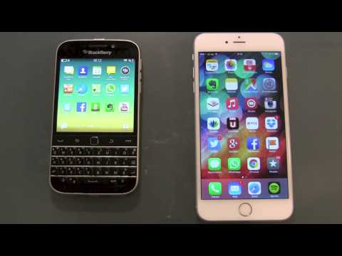 BlackBerry Classic vs iPhone 6 Vergleich und mehr