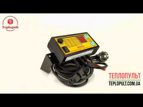 Автоматика Kom-Ster ATOS min для твердопаливного котла