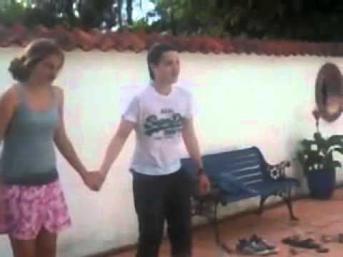 dub and hannah jumping in megs pool.flv