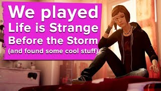 Life is Strange Before the Storm NEW Gameplay: We Found Some Cool New Info in Before the Storm