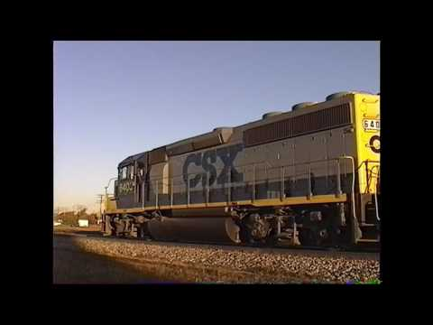 CSX In Indiana (1990s)