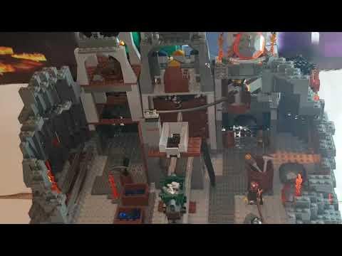 Lego Dom Hobbita Moc Youtube